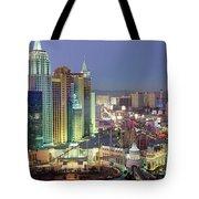 Vegas Skyline Tote Bag