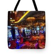 Vegas Slot Machines Tote Bag