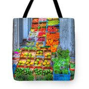Vegetable And Fruit Stand Tote Bag