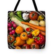 Vegetable Basket    Tote Bag