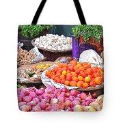 Vegetable Vendor - Omkareshwar India Tote Bag