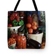 Vegetables For Pickling Tote Bag