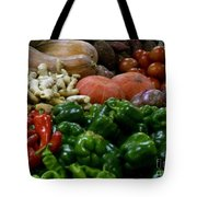 Vegetables In Chinese Market Tote Bag