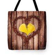 Vegetal Hearts Tote Bag