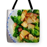 Veggie Medley Tote Bag by Andee Design