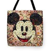 Veggie Mickey Mouse Tote Bag
