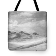 Veil Of Clouds Tote Bag
