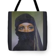 Veiled Beauty  Tote Bag