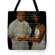 Vein Of Love Poem Tote Bag