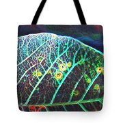 Veins Of Color Tote Bag