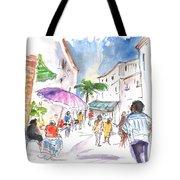 Velez Rubio Market 01 Tote Bag