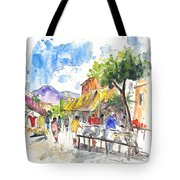 Velez Rubio Market 02 Tote Bag