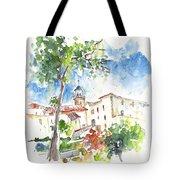 Velez Rubio Townscape 01 Tote Bag