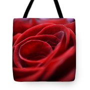 Velvet In Red Tote Bag