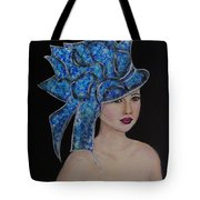 Velvet Tote Bag by The Art With A Heart By Charlotte Phillips