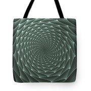 Velveteen Vortex Gray Tote Bag