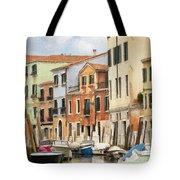 Venetian Apartments Impasto Tote Bag