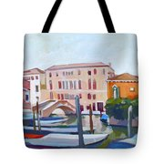 Venetian Cityscape Tote Bag by Filip Mihail