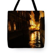 Venetian Golden Glow Tote Bag