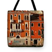 Venetian Red Tote Bag