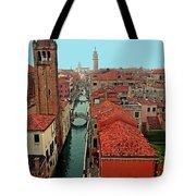 Venetian Street Scene Tote Bag