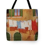Venetian Washday Tote Bag