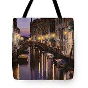 Venezia Al Crepuscolo Tote Bag