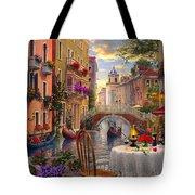 Venice Al Fresco Tote Bag by Dominic Davison