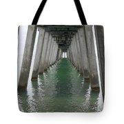Venice Beach Pier Structure Tote Bag
