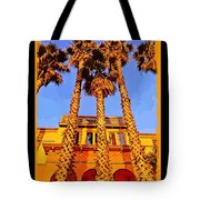 Venice Beach Poster Tote Bag