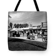 Venice Beach Street Venders Tote Bag