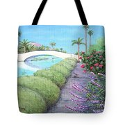 Venice California Canals Tote Bag