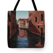 Venice Canal Tote Bag by Darice Machel McGuire