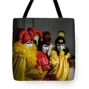 Venice Carnival Tote Bag