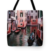 Venice Gondola Ride Tote Bag by Janet King