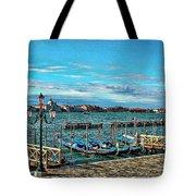 Venice Gondolas On The Grand Canal Tote Bag