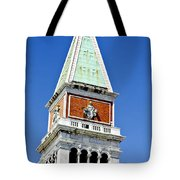 Venice Italy - St Marks Square Tower Tote Bag