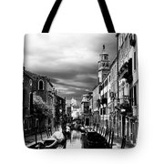 Venice Side Canal Tote Bag