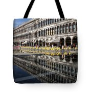Venice Italy - St Mark's Square Symmetry Tote Bag