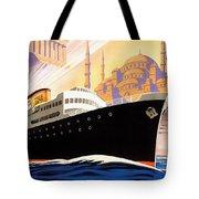 Venise Vintage Travel Poster Tote Bag