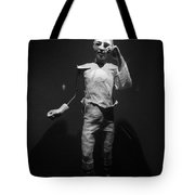 Ventriloquist Tote Bag