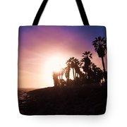 Ventura Beach Sunset Tote Bag
