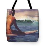 Ventura Surfer Girl Tote Bag