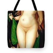 Venus And Amor Tote Bag