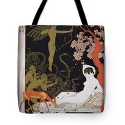Venus Tote Bag by Georges Barbier