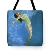 Venus Goes H2o  Tote Bag