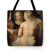 Venus In A Mirror Tote Bag