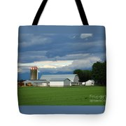 Verdant Farmland Tote Bag