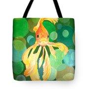 Vermilion Goldfish Tote Bag