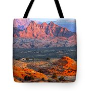 Vermillion Cliffs At Sunrise Tote Bag